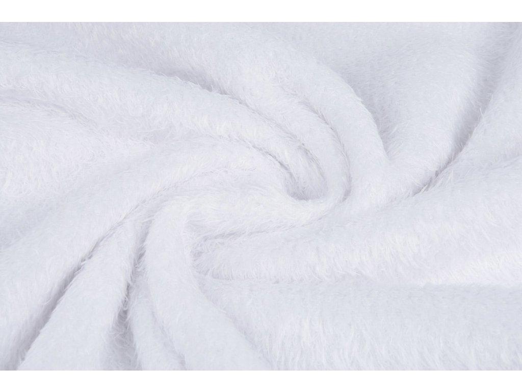 mouse fleece white
