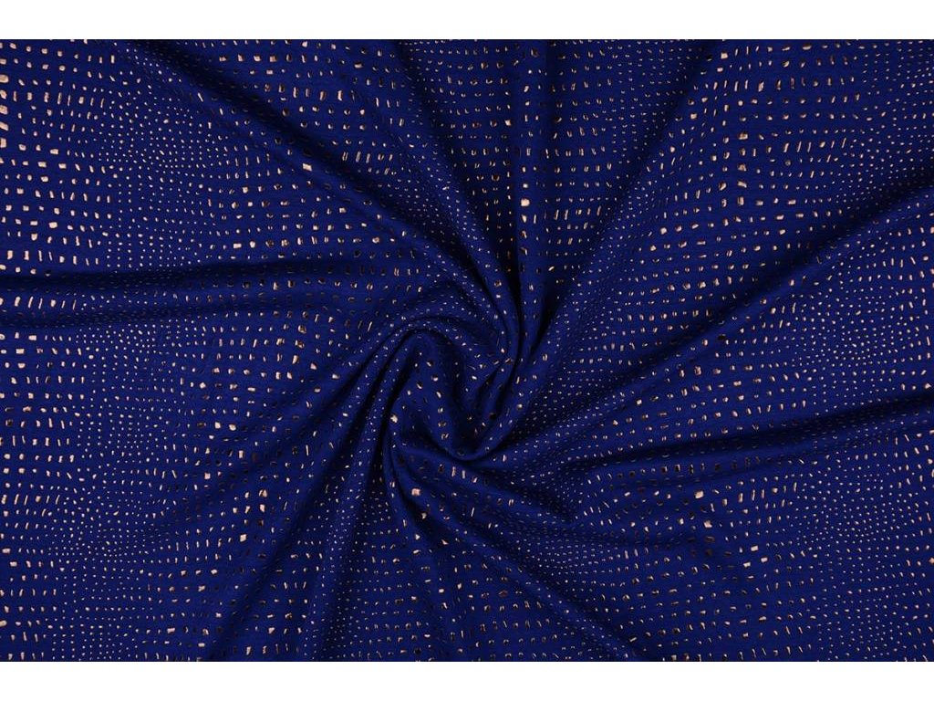 jersey gold drop kobalt blue