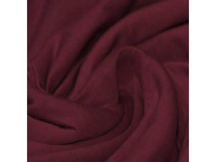 Bordeaux Cotton Jersey