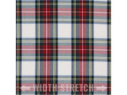 Tartan ecossais White Stuart 800x800