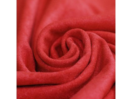 Suede Fabric Red 800x800