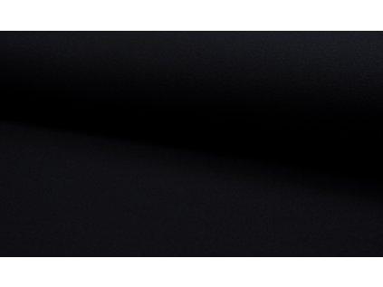Kabátovina úpletová černá
