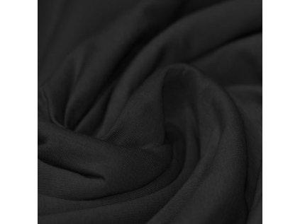 Baumwolle Tricot Schwarz 800x800