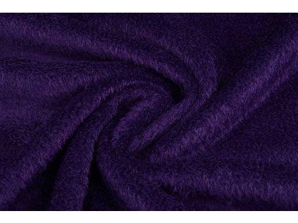 mouse fleece dark purple