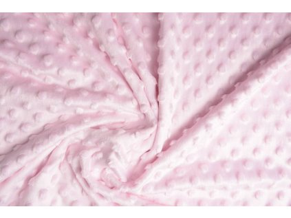 minky fleece light pink