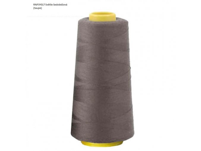 RNP3Y017 Taupe 750 OverlockThreadTaupe