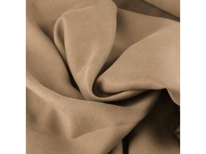 Tencel twill fabric camel 800x800