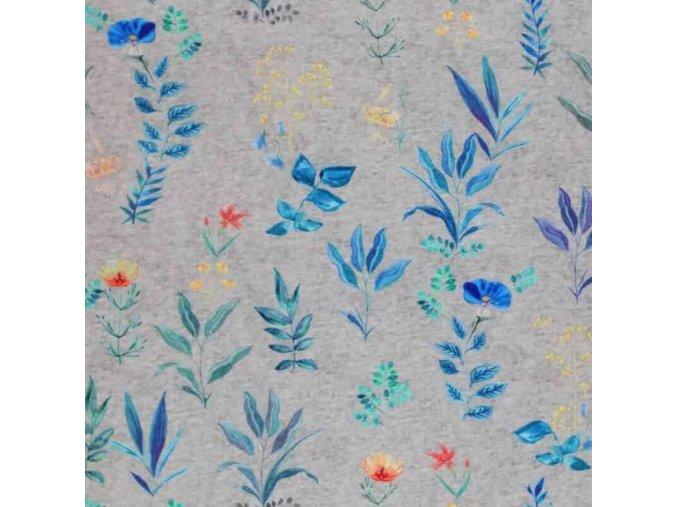 Jersey Cotton Fabric Digital field flower melee 800x800 800x800