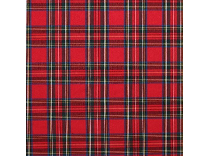 Scottish tartan Royal Stewart 800x800