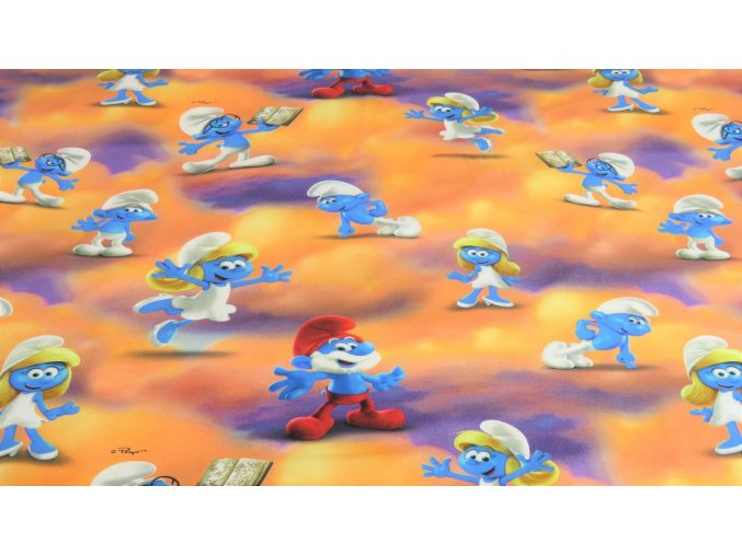 Tricot Smurfs 4177