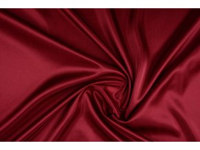 charmeuse lining dark red
