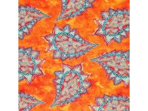 Viscose Jersey Digital batik paisley 800x800