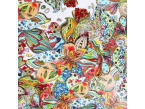 Viscose Jersey Digital Bohemian flower 800x800