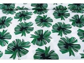 linnenlook printed tropical leaves