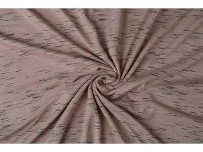viscose slub melange powder pink