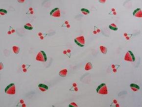 Popelín - melouny