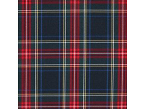 Scottish Tartan Fabric Navy Stuwart 800x800