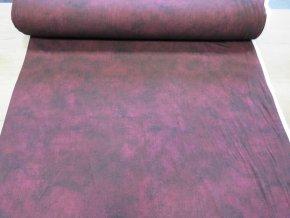 Viskózový úplet MOARE bordo UNI šíře 175 cm
