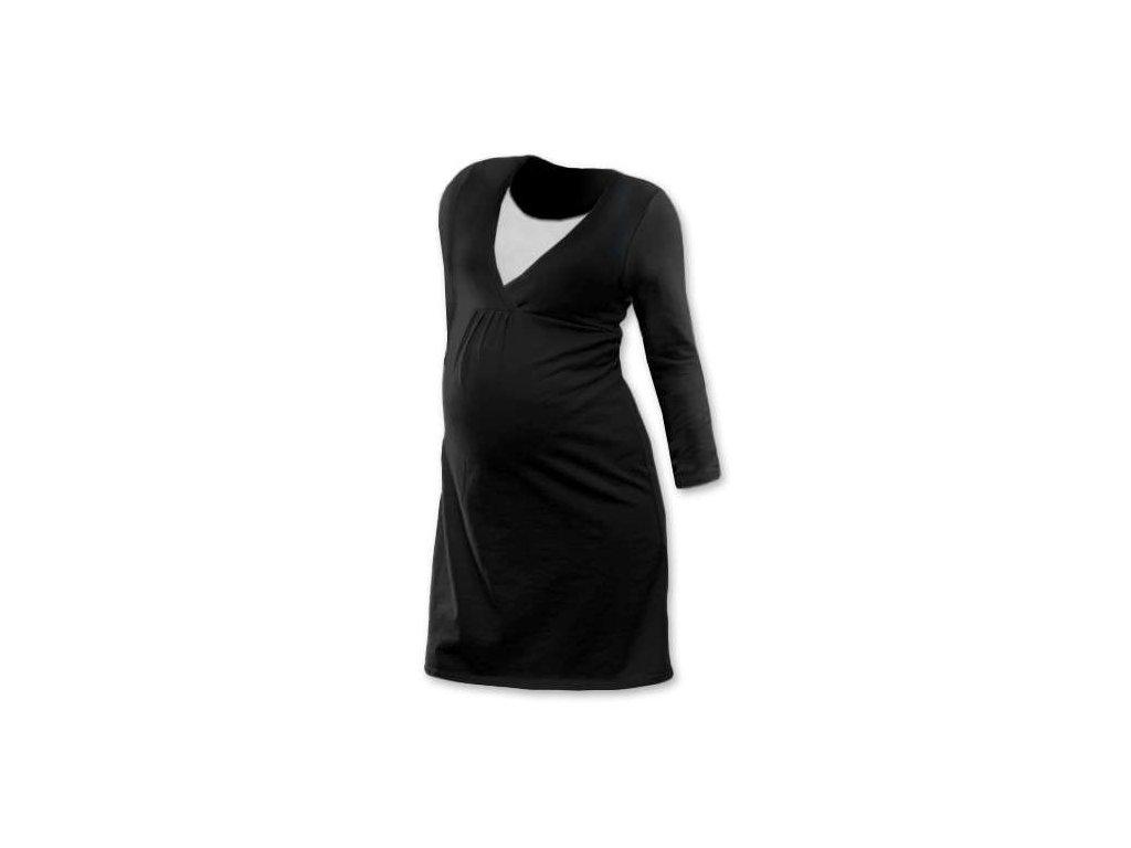LUCIE- nočná košeľa pre pohodlné kojenie, dlhý rukáv