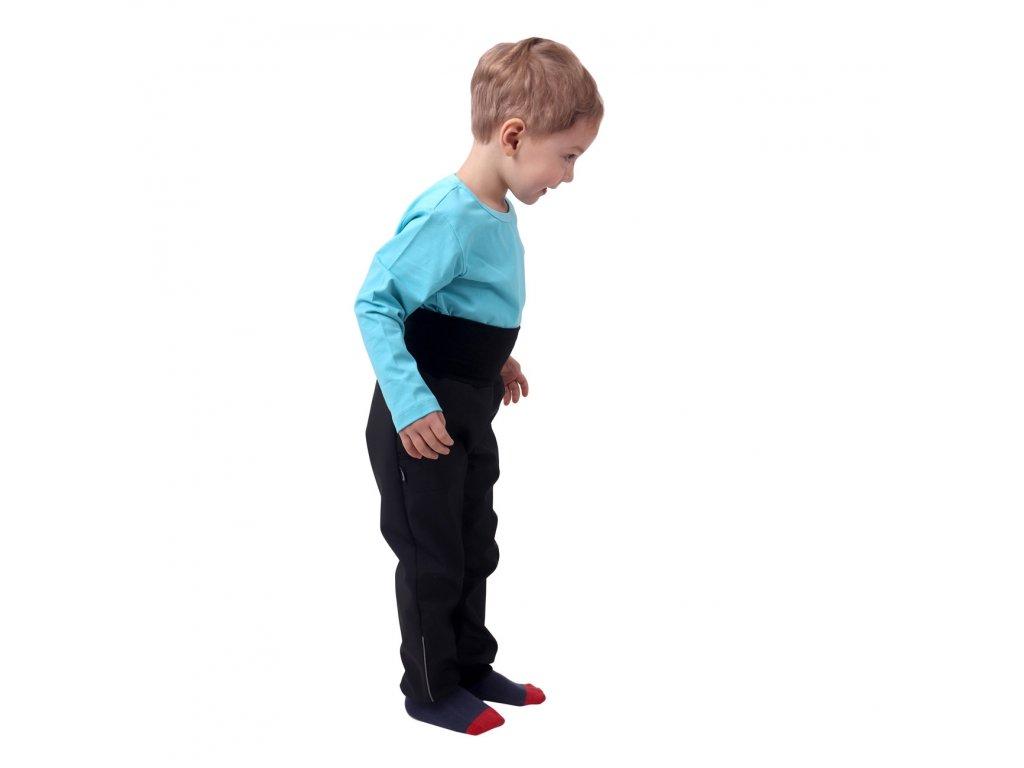 Jarné/letné detské sofshellové nohavice