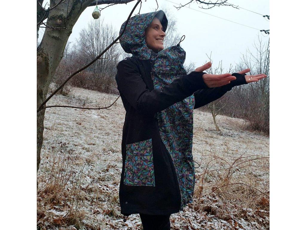Softshellová predĺžená nosiaca bunda Alva