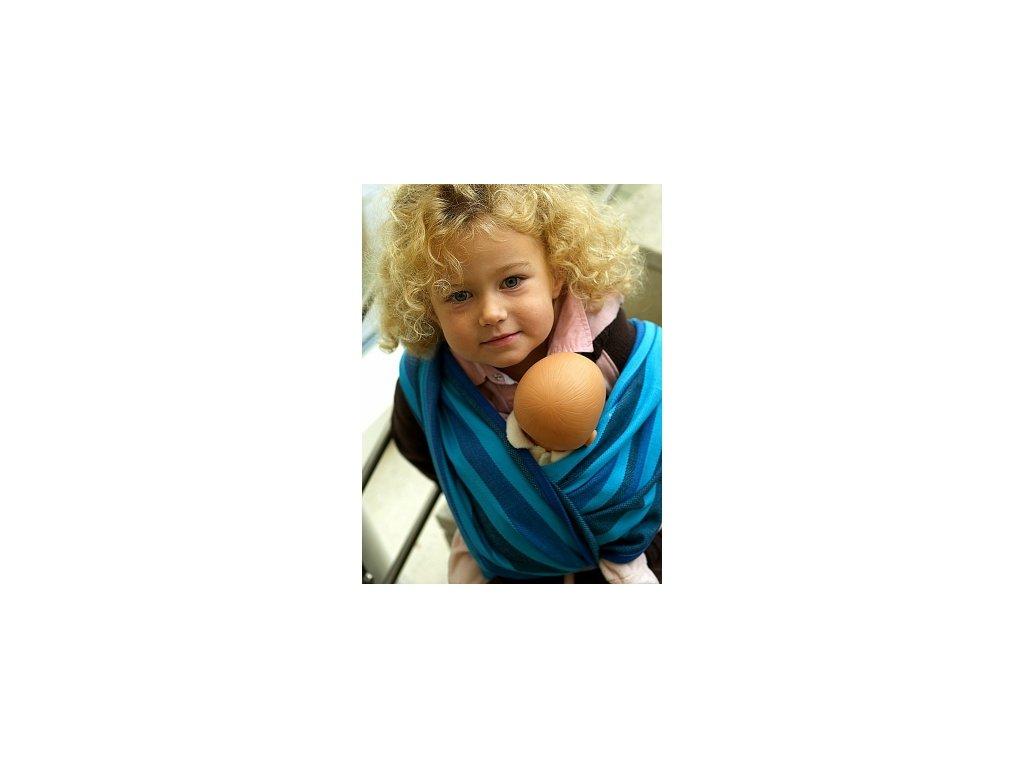 Detská šatka na nosenie pre malých nosičov Hoppediz (Varianta Antiqua)