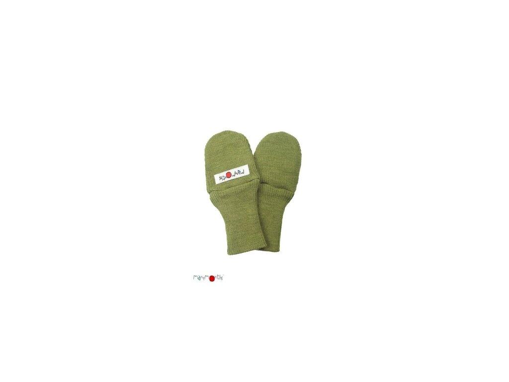 Detské rukavice z merinovlny ManyMonths (Varianta OceanWawe)