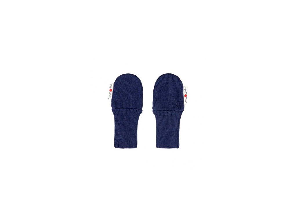 Detské rukavice z merinovlny ManyMonths 2016 (Varianta Moonlight blue)