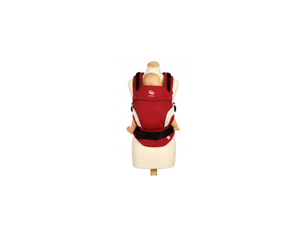 Ergonomický nosič Manduca NewStyle (Varianta Šedá/červená)