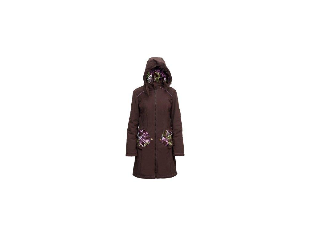 Softshellový kabát na nosenie detí Liliputi 2016 (Varianta Hrdzavo-béžový)