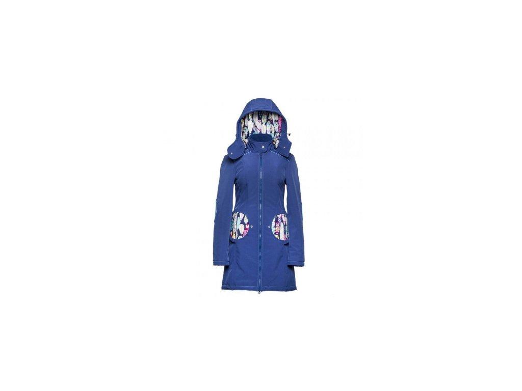 Softshellový kabát na nosenie detí Liliputi 2017/2018 (Varianta Violet grey)