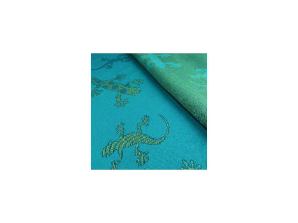 Šatka na nosenie detí Didymos - Limitovaná edícia - Gekon Smaragd (Varianta 4,7)
