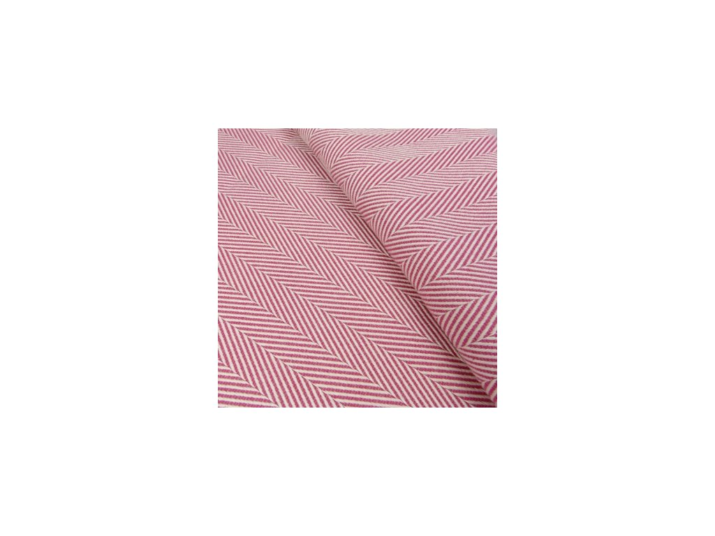 Šatka na nosenie detí Didymos - Limitovaná edícia - Lisca Raspberry (Varianta Lisca Raspberry)