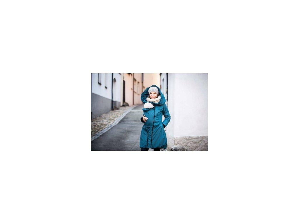 Zimný kabát na nosenie detí Angel Wings (Varianta Bordó)