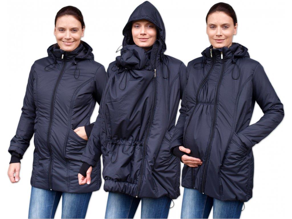 ZORA- zimná bunda (nielen) pre tehotné a nosiace ženy