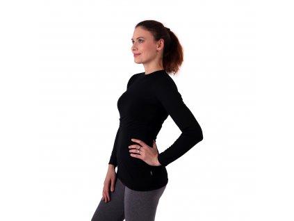 MEDA- tričko na kojenie z merino vlny, dlhý rukáv