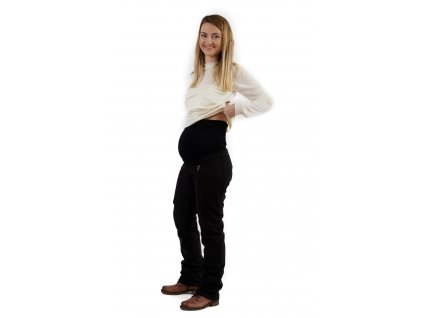 SILVIE- tehotenské softshellové nohavice
