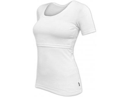 KATEŘINA- tričko pre diskrétne a pohodlné kojenie, krátky rukáv