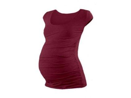 JOHANKA- tehotenské tričko, mini rukáv