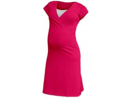 EVA- nočná košeľa pre pohodlné kojenie, krátky rukáv