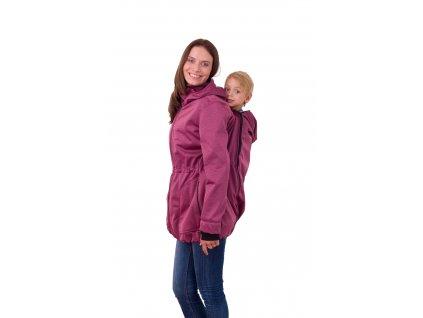 ALICE- softshellová bunda na nosenie detí