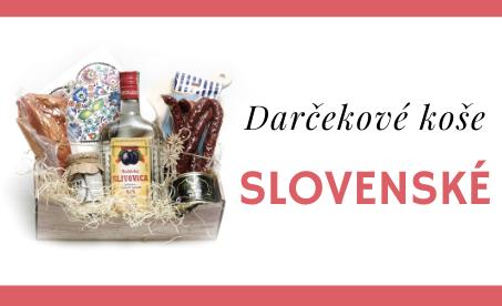 Slovenské darčekové koše