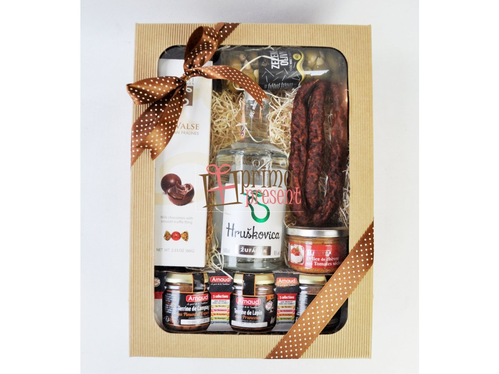 Gurmánsky darčekový box