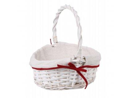 bialy koszyk wiklinowy z materialem na swieconke mix kolorow (1)