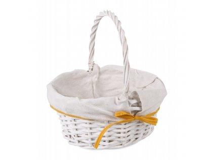 bialy koszyk wiklinowy z materialem na swieconke mix kolorow (2)