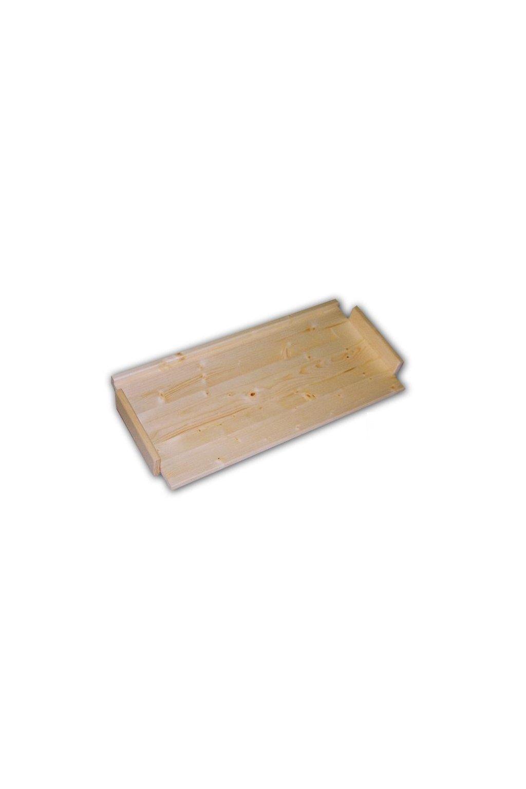Dřevěná police 45x34cm