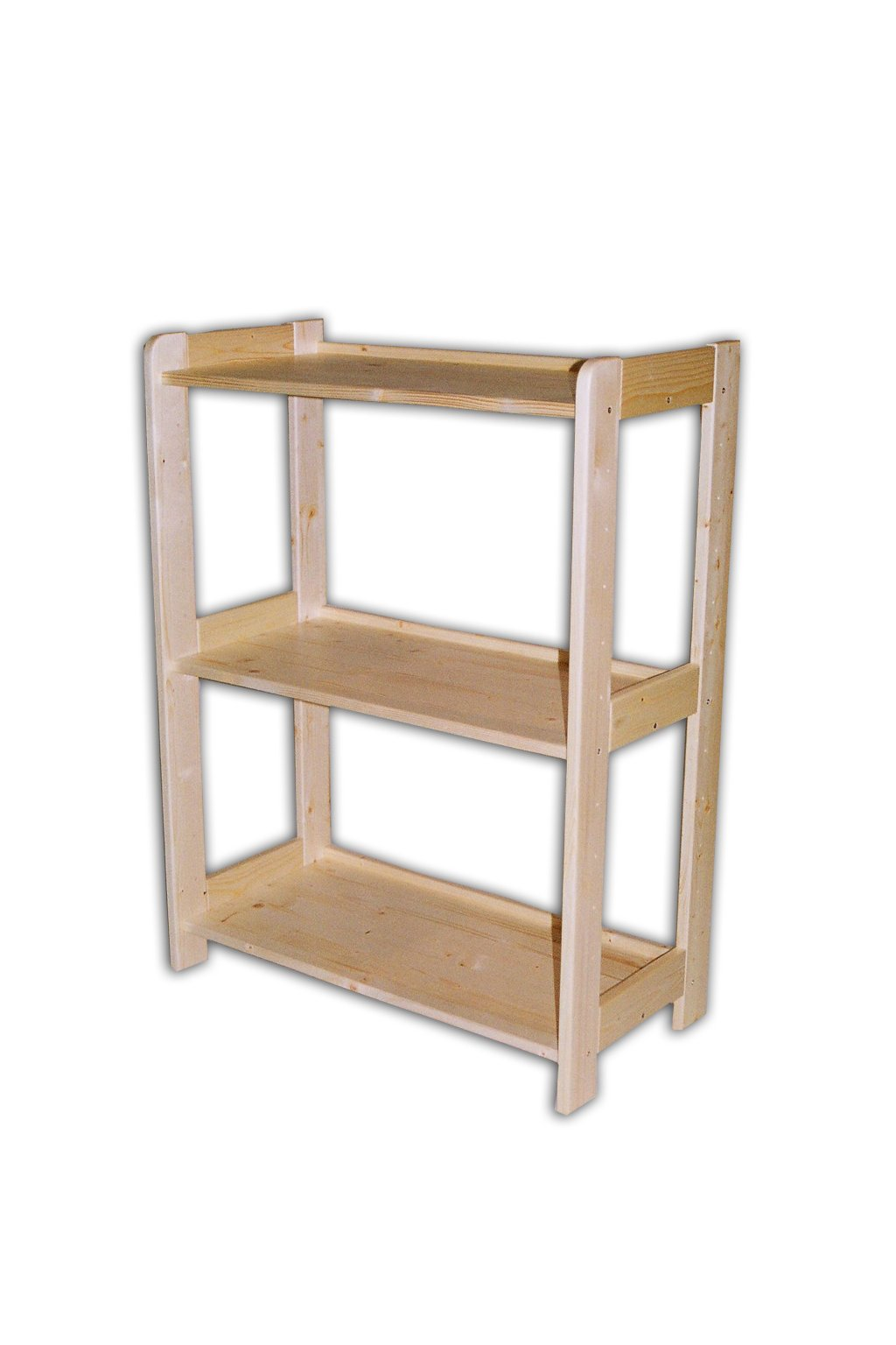 dřevěný regál 89x68x44cm