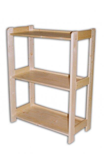 dřevěný regál 89x68x34