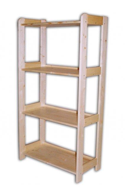 Dřevěný regál 128x80x44cm