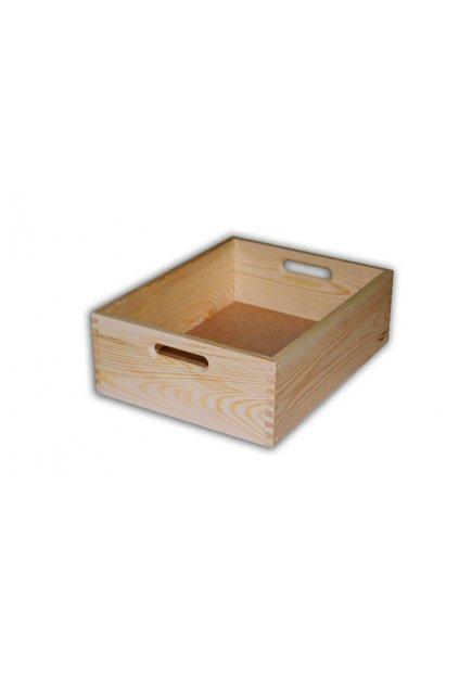 Dřevěná bedýnka 40x30x13cm